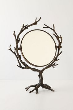 Another Anthropologie find: Who's The Fairest Mirror. Loving all this forest-inspired furniture, although it seems I'd end up poking myself a lot.