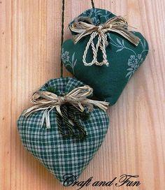 cuori di lavanda, tutorial + pattern / lavender hearts, tutorial + pattern