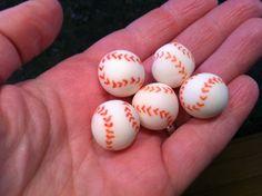 DIY Fondant Baseballs