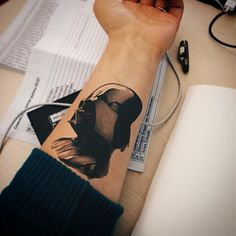 Darth Vader tattoo  from star Wars
