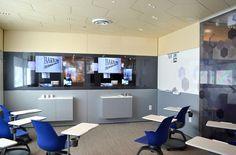 DIRTT Education: Embedded TV & technology integration