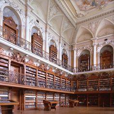 Teplá Abbey library, Czech Republic. Photo credit: Christoph Seelbach