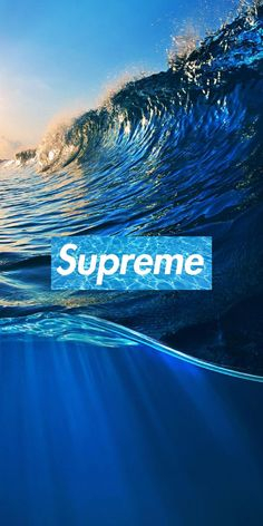 Supreme Wave Wallpaper by - 62 - Free on ZEDGE™ now. Browse millions of popular hd Wallpapers and Ringtones on Zedge and personalize your phone to suit you. Browse our content now and free your phone Nike Wallpaper, Iphone Background Wallpaper, Apple Wallpaper, Aesthetic Iphone Wallpaper, Cool Wallpaper, Waves Wallpaper Iphone, Supreme Wallpaper Hd, Supreme Background, Bape Wallpapers