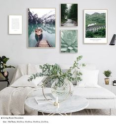 Scandinavian Style Sea Wave Canvas Poster Mountain Forest Sea Wall Art Print Painting Decorative Picture For Living Room Decor Art Gallery Wall, Landscape Wall Art, Decor, Nordic Living Room, Living Room Decor Pictures, Landscape Walls, Living Room Pictures, Wall Art Prints, Canvas Wall Art