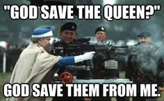 God save the queen Queen Elizabeth