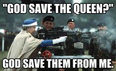 God save the queen Queen Elizabeth