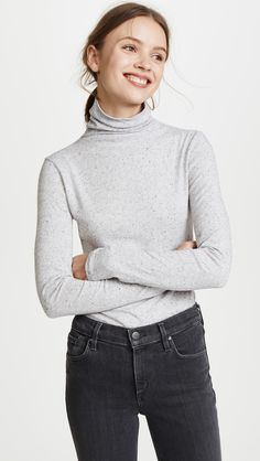 Club Monaco Julie Turtleneck Sweater | See more of Lucy Cuneo's favorite clothes & accessories at http://lucycuneo.com/
