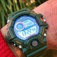Casio G-Shock Rangeman GW-9400 Green.