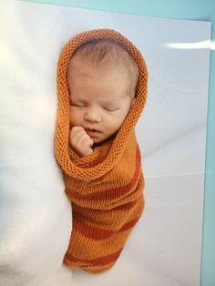My friend Sean's Baby Cocoon design on his nephew.