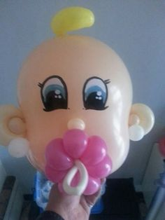 Balloon Centerpieces, Centerpiece Decorations, Baby Bottles, Baby Decor, Tweety, Balloons, Baby Shower, Pacifiers, Floral