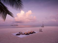 Conrad Maldives Rangali Island Hotel - Sunken Beach Dining