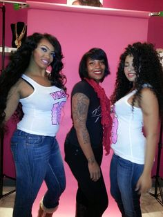 Styled by the stylist blu. Work it ladies!!