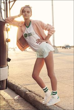 Supermodels.nl Industry News - Amanda Norgaard for Elle Sweden