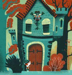 Le petit Poucet - Gwen Keraval illustration
