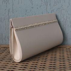 Bridal Handbags, Lv Handbags, Leather Handbags, Nude Clutch Bags, Stylish Handbags, Purse Patterns, Small Bags, Wallets For Women, Evening Bags