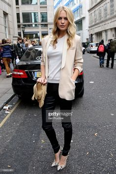 Poppy Delevingne sighted during LFW A/W 2012 on February 18, 2012 in London, England.