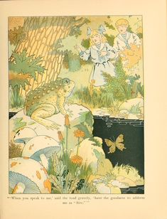 Robert W. Chambers, Garden-land (1907). Illustrations by Harrison Cady.   BookReaderImages.php (873×1143)