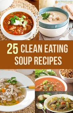 It's hard to find good clean eating soup recipes. I already made one list of 25 clean eating soup recipes but there were so many that I made a second list. None of the recipes on the two posts are duplicates. I have a big variety, there are a lot of different clean eating soup …