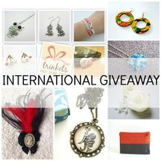 Win 11 Fabulous Gifts ^_^ http://www.pintalabios.info/en/fashion_giveaways/view/en/1813 #International #Jewelry #bbloggers #Giveaway