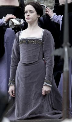 Anne Boleyn Execution Gown (Wolf Hall, 2015)