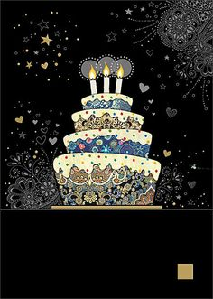 BugArt Jewels ~ Decorative Cake. JEWELS Designed by Jane Crowther.