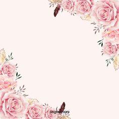 European Wedding Celebration Wedding Invitations Hand Painted Flowers And Birds Poster Background Cute Pink Background, Wedding Background Images, Watercolor Flower Background, Flower Background Wallpaper, White Background Images, Flower Backgrounds, Art Background, Colorful Backgrounds, Frame Floral