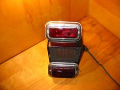 N.O.S Bargman #2 Trail Lite tail lights Circa 1954