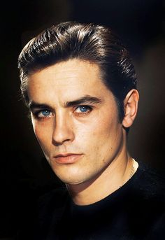 Alain Delon, an inspiration for Devin Black. For obvious reasons.