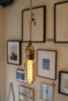 Hanglamp grijs-wit zigzag