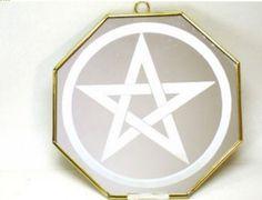 Espelho Pentagrama 12cm