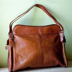 100% genuine cow leather men bag -hiram beron brand name