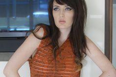 Kelly Thorne design: Tribal print backless maxi dress