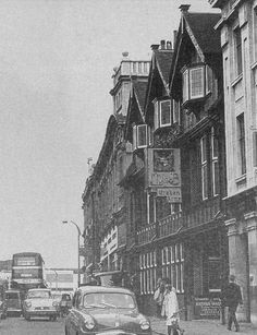 High Street, Coventry, with the Craven Arms on the right Canadian Airlines, Michael Carter, Coventry City, Photographs And Memories, Old Street, Family Memories, Vintage Photography, Ancestry, Britain