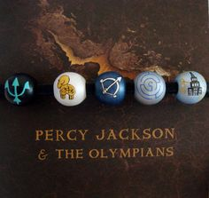 Percy Jackson Necklace Camp Half Blood  with bead added for Huntresses of Artemis by TotallyObsessed on Etsy
