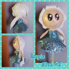 Fofupluma Elsa (Frozen)