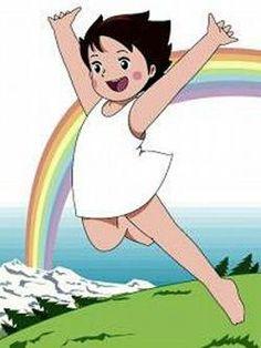 heidi in happiness Heidi Cartoon, Cartoon Shows, 80 Cartoons, Animated Cartoons, 90s Childhood, Childhood Memories, Saturday Morning Cartoons, Old Anime, Classic Cartoons