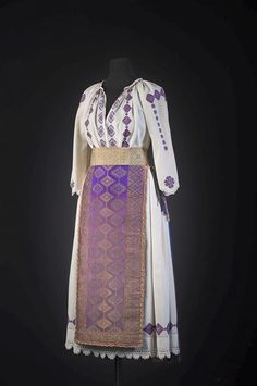 Traditional Wedding Dresses, Dream Dress, Fashion Pants, Lace Skirt, Folk, Culture, Costumes, Embroidery, Purple