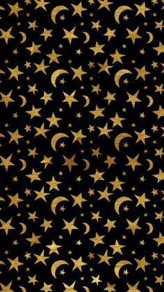 iphone wallpaper whatsapp - Imagem de wallpaper, background, and moon Brandonlee Mansueto Moon And Stars Wallpaper, Star Wallpaper, Fall Wallpaper, Black Wallpaper, Galaxy Wallpaper, Screen Wallpaper, Stars And Moon, Witchy Wallpaper, Halloween Wallpaper
