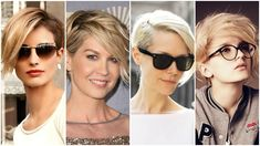 Trending Hairstyles Top Short Hairstyles Trendy Short Hairstyles For Women-The Top Hair Cuts Popular Hairstyles, Short Hairstyles For Women, Diy Hairstyles, Hairstyles 2018, Asymmetrical Pixie Haircut, Medium Hair Styles, Short Hair Styles, Langer Pony, Cute Pixie Haircuts