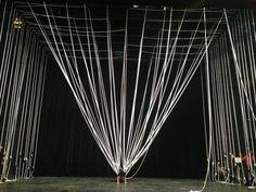 Numen / For Use. Sven Jonke, Christoph Katzler and Nikola Radeljković. Stage Set Design, Set Design Theatre, Spider Dance, Scenography Theatre, Illusion, Theatrical Scenery, Midsummer Dream, Twelfth Night, After Life