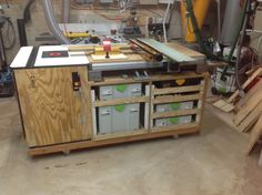 My Custom MFT/3 and Router Table with Incra LS