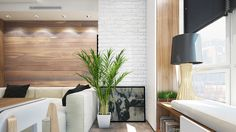 6 Beautiful Home Designs Under 30 Square Meters [With Floor Plans] Small Apartment Design, Condo Design, Small House Design, Small Apartments, Small Spaces, Interior Design, Studio Apartment, Beautiful Home Designs, Beautiful Homes