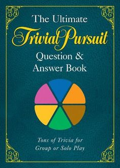 Booktopia has The Ultimate Trivial Pursuit Question and Answer Book by Puzzle Wright Press. Buy a discounted Paperback of The Ultimate Trivial Pursuit Question and Answer Book online from Australia's leading online bookstore. Trivia Questions For Kids, Quiz Questions And Answers, Question And Answer, Trivial Pursuit Questions, Food And Drink Quiz, Family Quiz, Obscure Facts, Life Affirming, Trivia Quiz