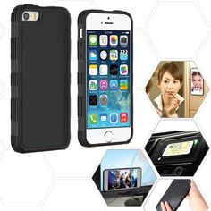 MYBAT Magic Adhesive Hybrid Protector iPhone 5S/SE Case