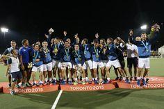 Aregentinas Campeón Panamericano 2015 de Hockey sobre césped. 3 a 0 sobré Canadá.
