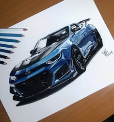 Chevy camaro - My list of the best classic cars Camaro Zl1, Chevy Camaro, Corvette, Vintage Jeep, Car Design Sketch, Car Sketch, Lightning Mcqueen, Disney Cars, Cool Car Drawings