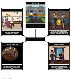 A great lesson plan, after reading the story, is for students to complete a scavenger hunt using the storyboard creator. Give them a list of common archetypes in detective fiction and have them create a storyboard that depicts and explains the use of each literary element in the story! View the full teacher guide here: https://www.pinterest.com/storyboardthat/the-purloined-letter/