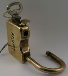 rare padlocks - french fichet
