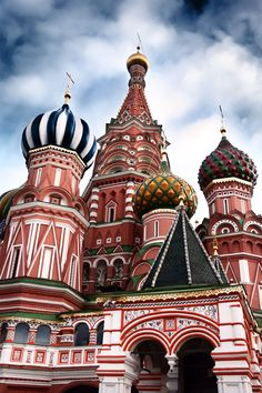 St. Basil's Cathedral, Moscow, Russia - ELLEDecor.com