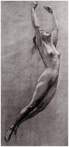 Herbert James Walker Study for Iris from Prospero